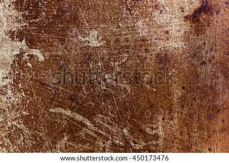Stained Scratched Metal Background