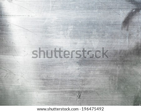 stainless steel texture background - stock photo