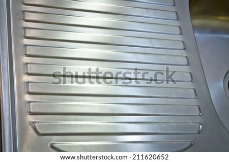 stainless surface