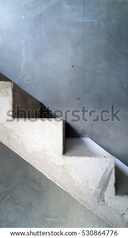 Stair Materials In Construction Site
