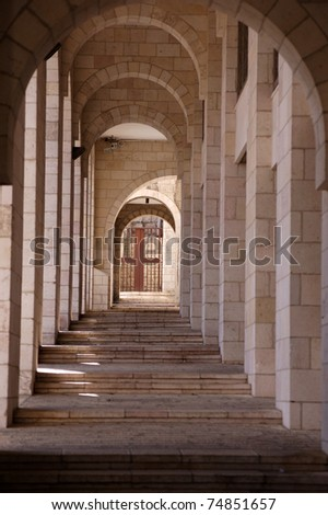 Stairs in Jerusalem