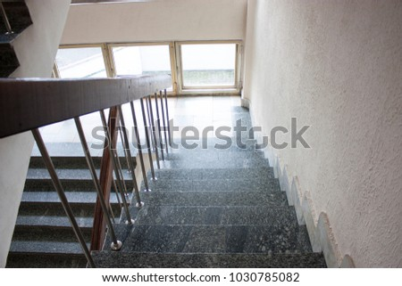 Stairwell In The Hospital