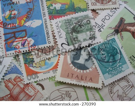 stamps in disarray #2