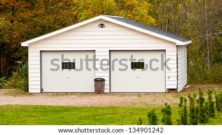 Standalone double garage