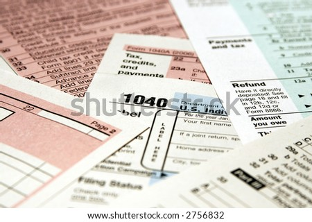 Standard 1040 Income Tax forms v.7