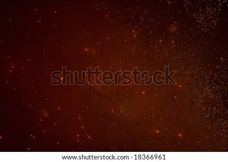 Star abstract sky - stock photo