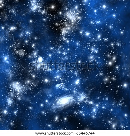 Star and space Orion - stock photo