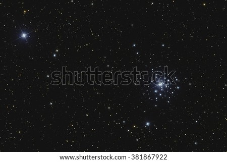 Star cluster NGC2362
