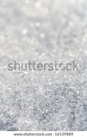 star glitter background , super macro shot, shallow DOF - stock photo
