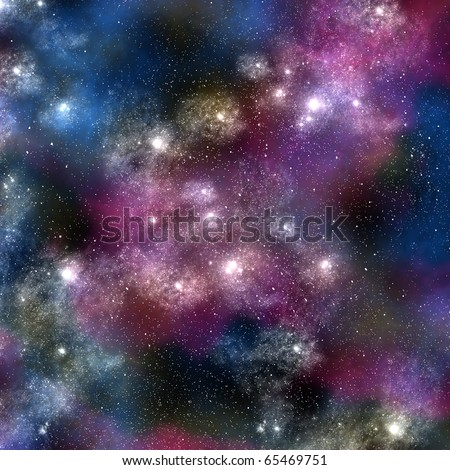 Star in the space, Astronomy concept - stock photo