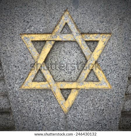 Star David Jewish Symbol On Old Stock Photo 66574876 - Shutterstock