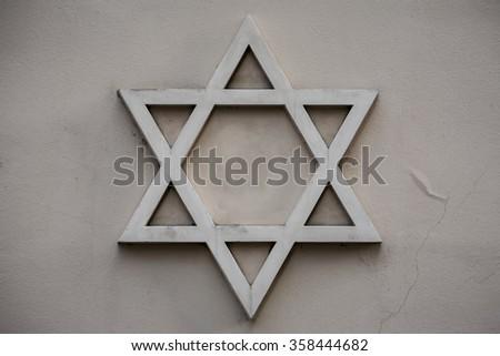 Star David Symbol Judaism Symbol Jews Stock Photo Royalty Free