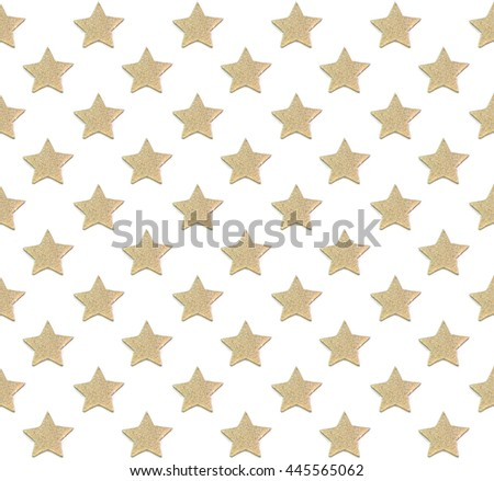 Star seamless background - stock photo