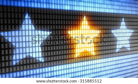 Star sign - stock photo