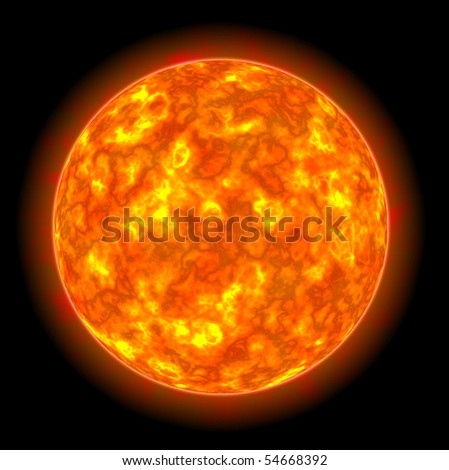 Star Sun - stock photo