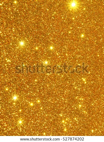 Starburt effect background in gold color, looking like a constellation
