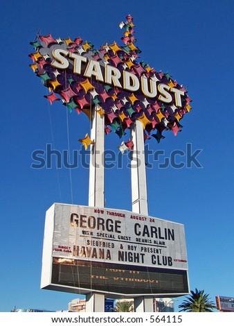 Stardust sign in Las Vegas - stock photo