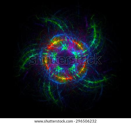 Starfish abstract illustration - stock photo