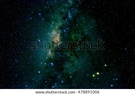 Stars and galaxy space sky night background in Africa