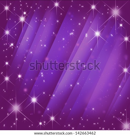 Stars brust  on  motion pink blur ray abstract background - stock photo