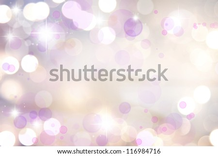 Stars on pink tone background - stock photo