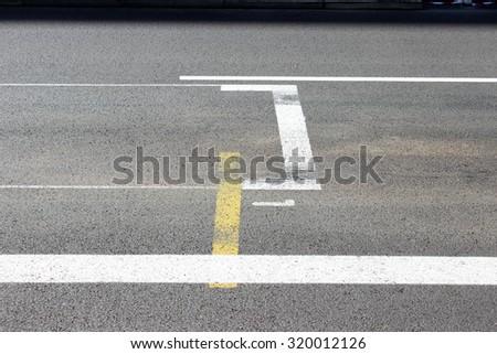 Start and Finish Line of the Monaco Formula 1 Grand-Prix - stock photo