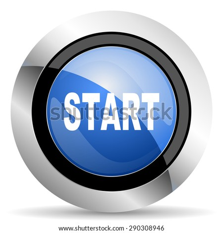 start icon  original modern design for web and mobile app on white background   - stock photo