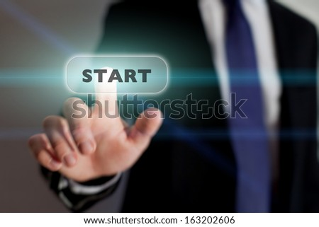 start new business, concept - stock photo
