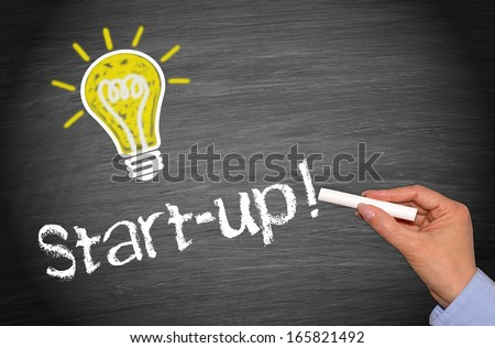 Start-up - Business and Innovation Concept - stock photo