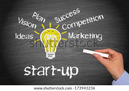 Start-up - Business Concept - stock photo