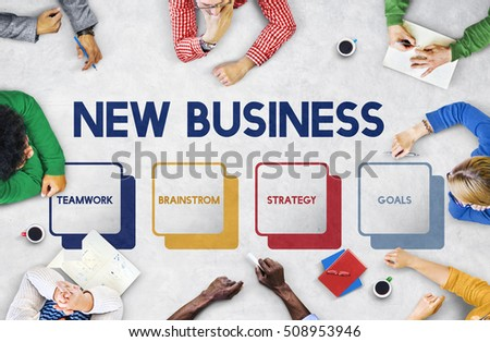 Start up Business Strategy Planning Concept