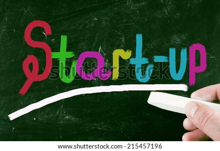 start-up concept - stock photo