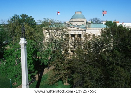 State Capitol of North Carolina in Raleigh, NC - stock photo