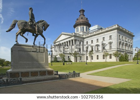 State Capitol of South Carolina, Columbia - stock photo