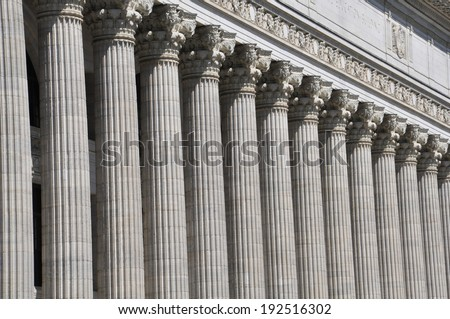 State Education Building in Albany, New York - stock photo