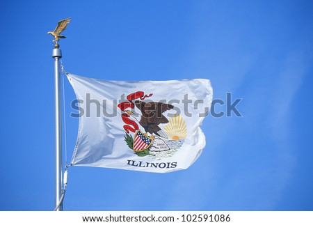 State Flag of Illinois