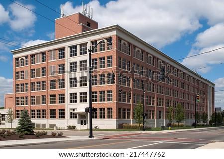 Stately Warehouse - stock photo