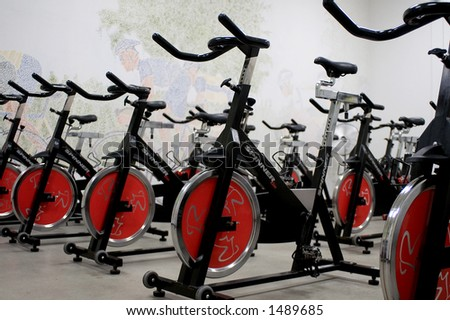 Stationary Spinning bicycles