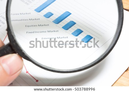 Statistics accounting info, which including of many economic statistics such as bar chart and pie diagram on digital information screen. - Business Research Data Economy Statistics Concept