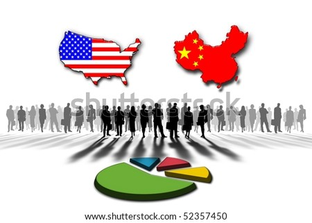 Statistics between the United States and China