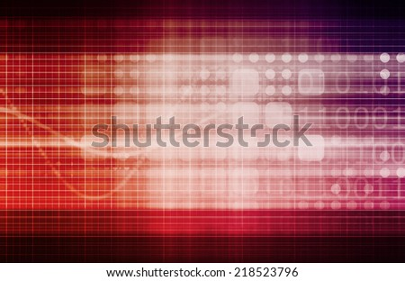 Statistics Information as a Business Concept Abstract - stock photo