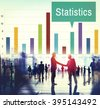 Statistics Statistical Financial Management Economics Concept - stock photo