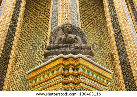 Statue in Royal Grand Palace, Bangkok