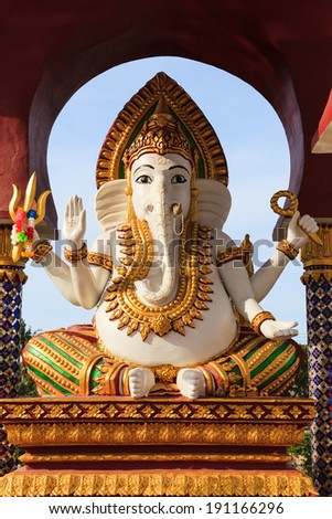 Statue of Ganesha - stock photo