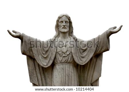 Statue of Jesus - stock photo