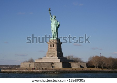 Statue of Liberty - stock photo