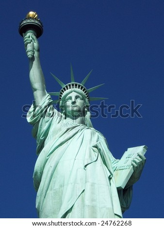 Statue of Liberty in New York, America