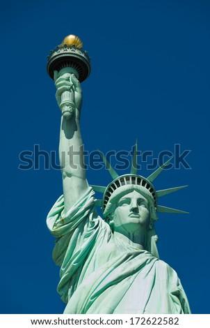 Statue of Liberty New York - stock photo
