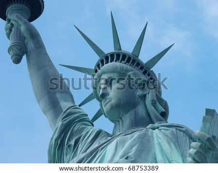 Statue of Liberty New York - stock photo