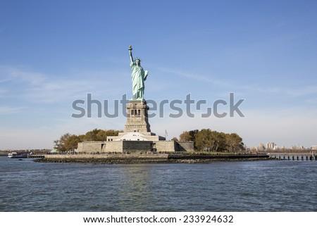 Statue of Liberty, New York City. - stock photo